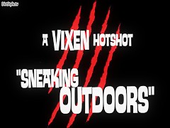 Sneaking outdoor Vixen artofzoo